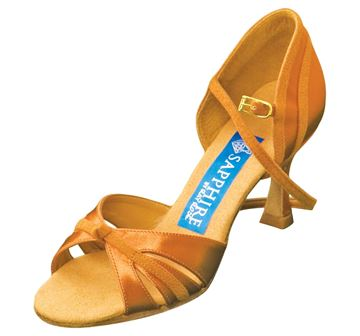 Bild von Orion | L.Tan Satin & Tan Suede | Sale