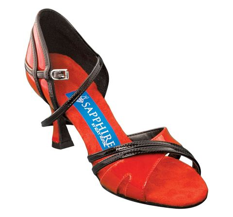 Picture of Aurora | Red Patent & Black Patent | Sale