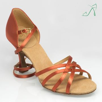 Imagen de 835 Monsoon | Dark Tan Satin | Sale
