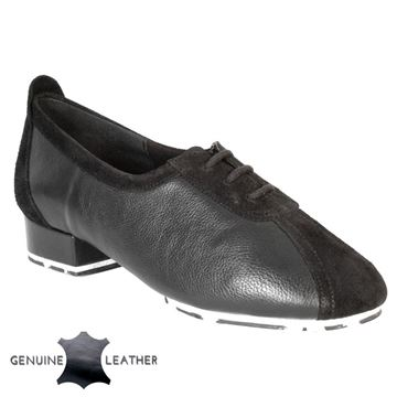 Bild von P111 Black Leather/Suede - Star Sole | Sale