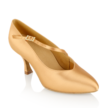 Immagine di 119A Nimbus | Flesh Satin  | Standard Ballroom Dance Shoes
