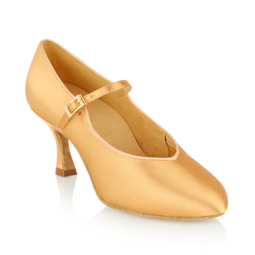 Picture of 146A Serengeti | Flesh Satin  | Standard Ballroom Dance Shoes
