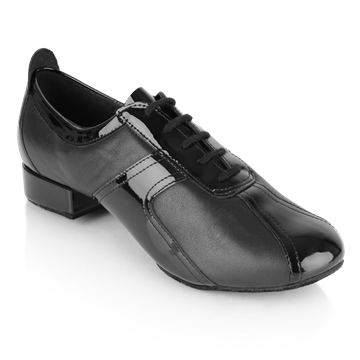 Picture of Elm - Black Leather/Patent