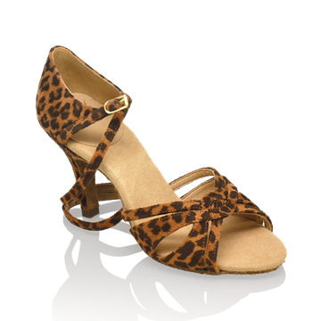 Imagen de 884-X Aura Xtra | Leopard Print | Latin Dance Shoes | Sale
